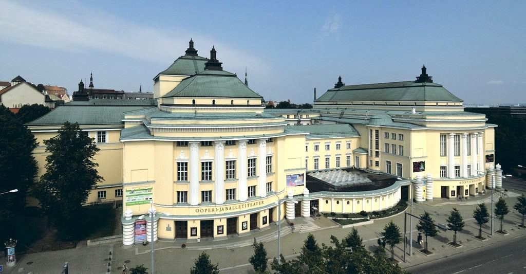 Национальная опера «Эстония» (Rahvusooper Estonia) Таллин (Эстония)