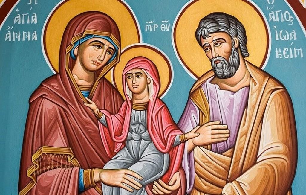 Святые Праведные Богоотец Иоаким и Анна, Рождество Пресвятой Богородицы 2021