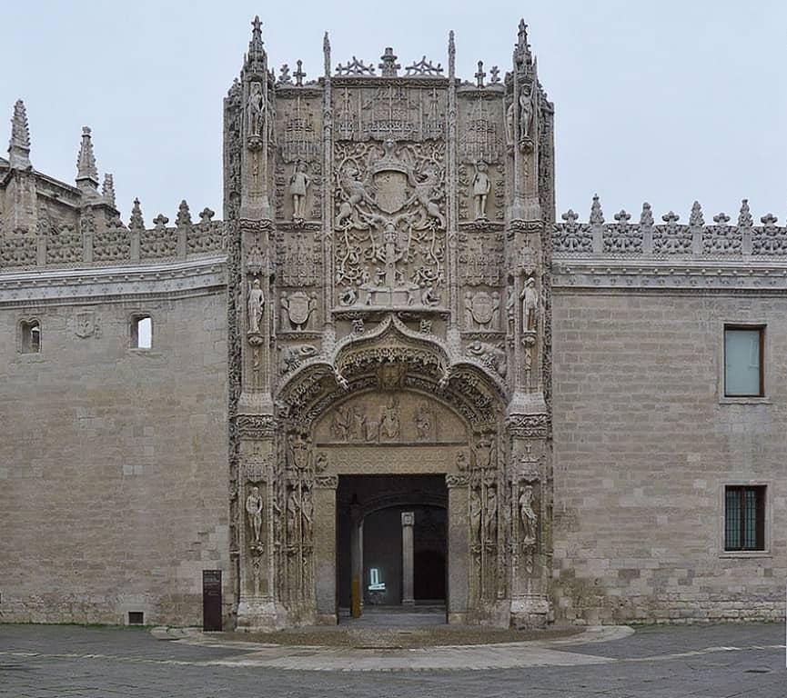 Национальный музей скульптуры - Colegio de San Gregorio (1488 - 1496 гг.)