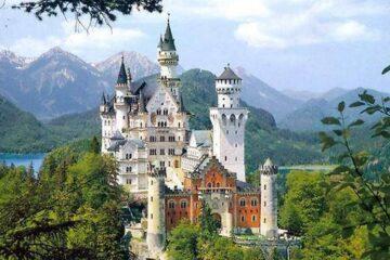 Нойшванштайн - замок Людвига II
