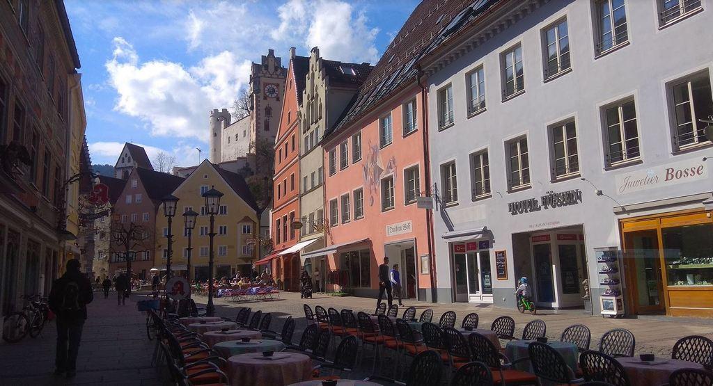 Фюссен - Старый город