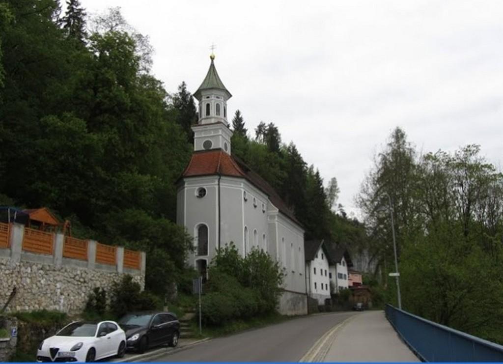 Церковь Богородицы на горе, Фюссен