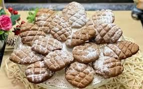 Новогоднее печенье - шишки