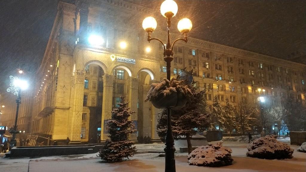 Новый год, Киев