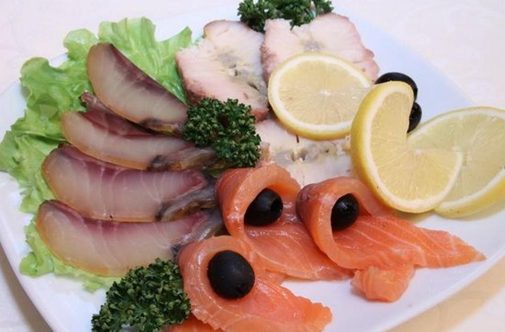 Рыбная тарелка на Новый год Меню на Новый год 2021