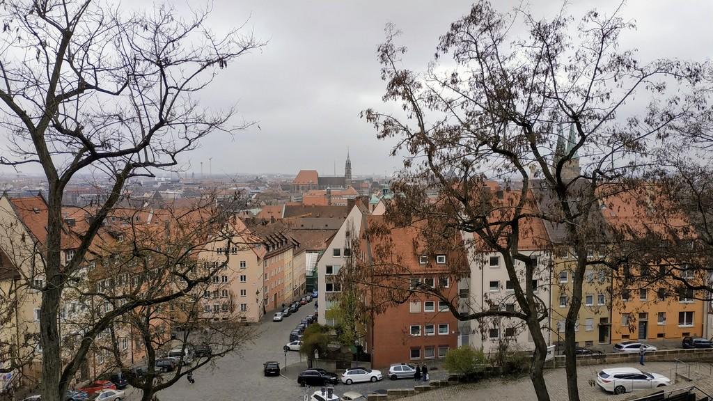 Нюрнберг – город на севере Бавария, Германия