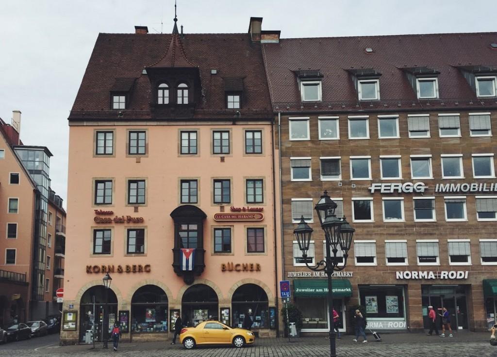 Книжный магазин (Buchhandlung Korn und Berg, Nürnberg)