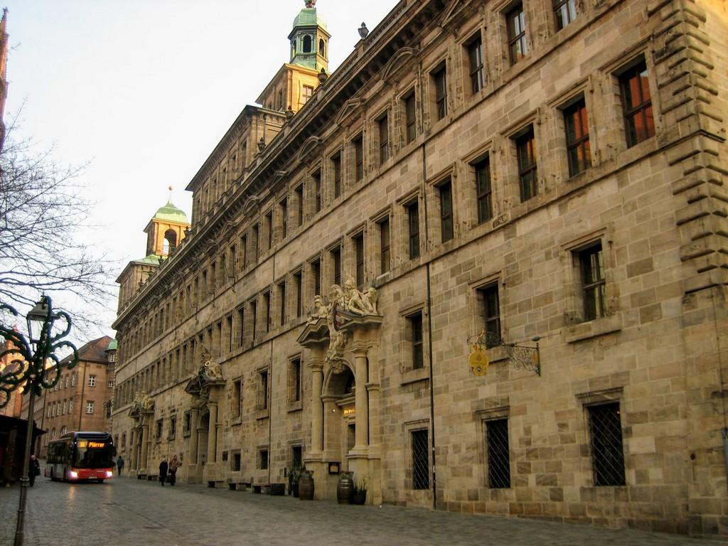 Ратуша Нюрнберга (Nürnberger Rathaus)