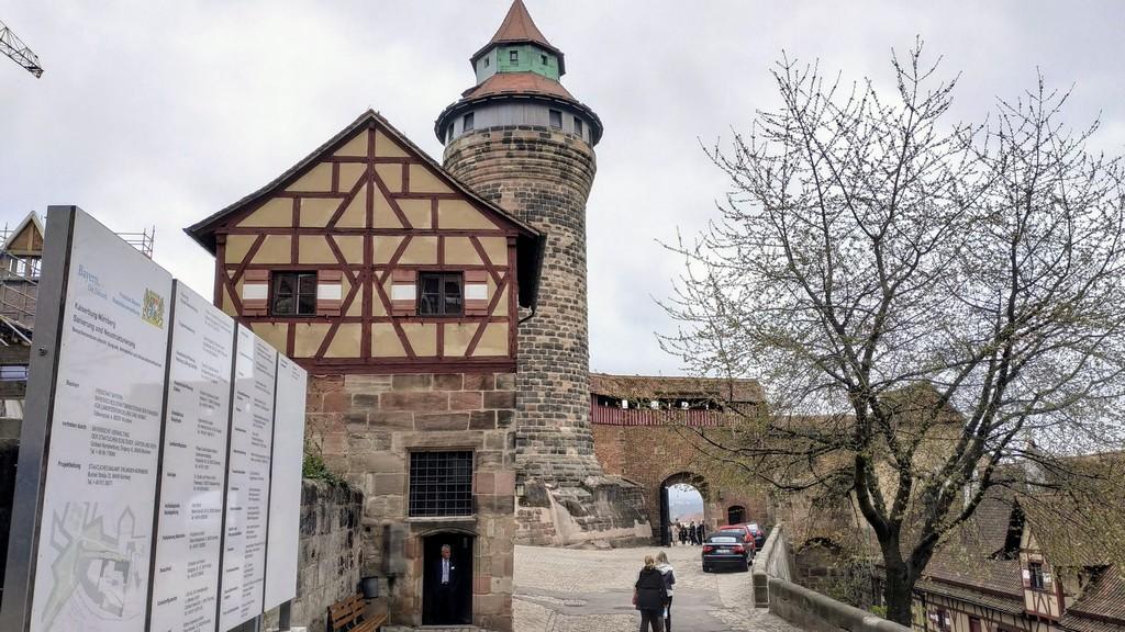 Нюрнбергская крепость (Nürnberger Burg)
