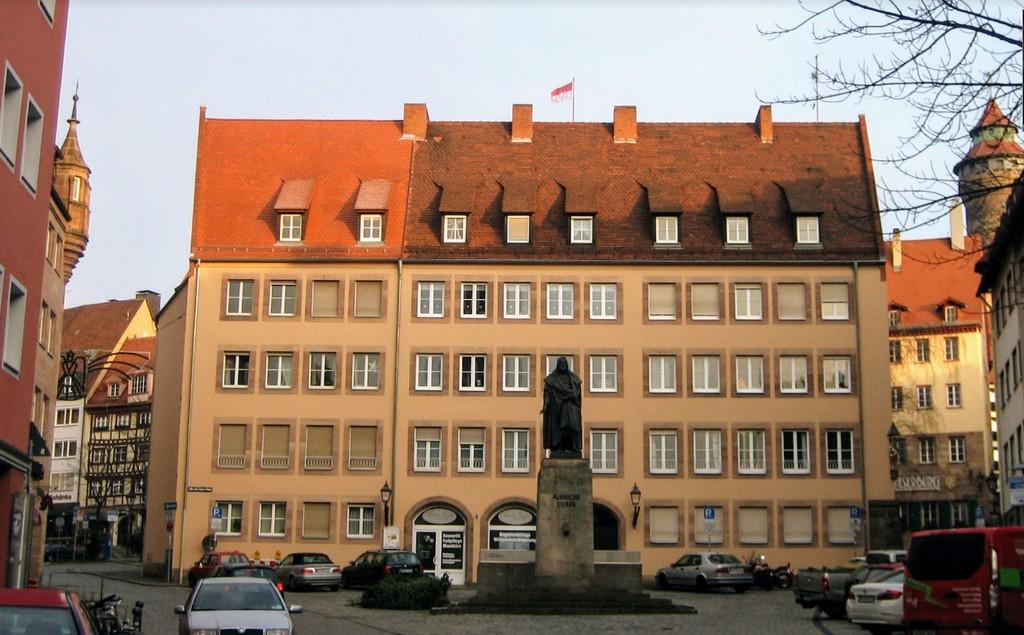Памятник Альбрехту Дюреру (Albrecht-Düerer Denkmal)