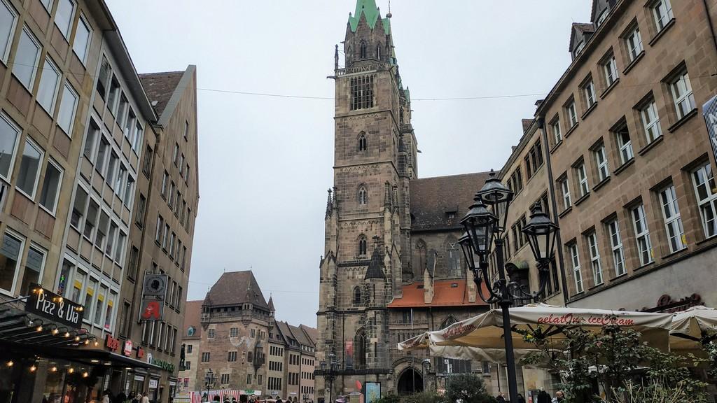 Церковь св. Лоренца (Kirche St. Lorenz), Нюрнберг