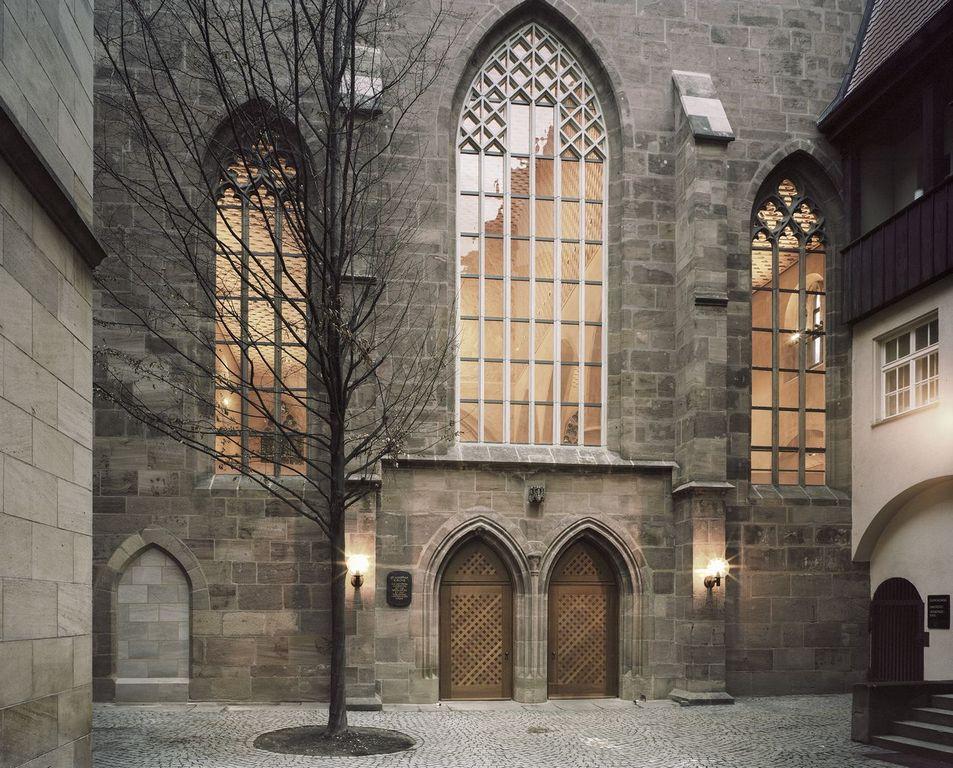 Нюрнберг, Бавария,  Храм Святой Марты - St. Martha Kirche