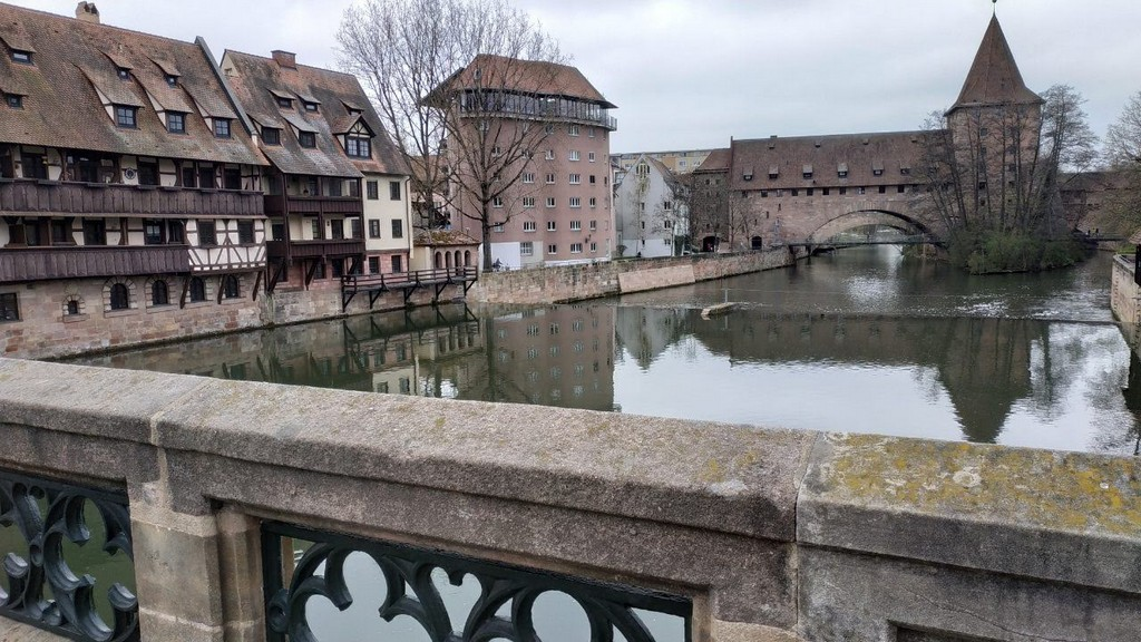 Старый цепной мост Kettenssteg