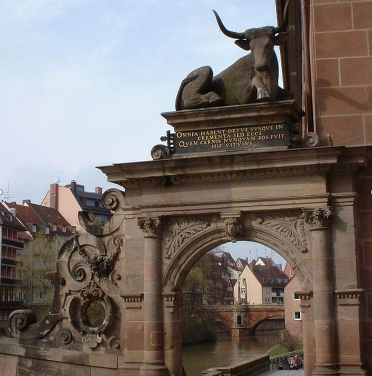 Мясной мост (Fleischbrücke), Нюрнберг, Бавария