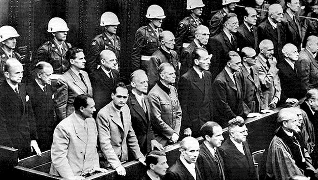 Вынесение приговора военным преступникам, Нюрнберг (Бавария)