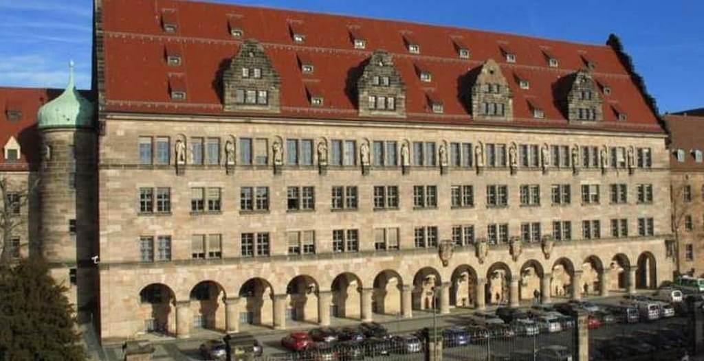 Дворец правосудия в Нюрнберге - Palace of Justice, Nuremberg