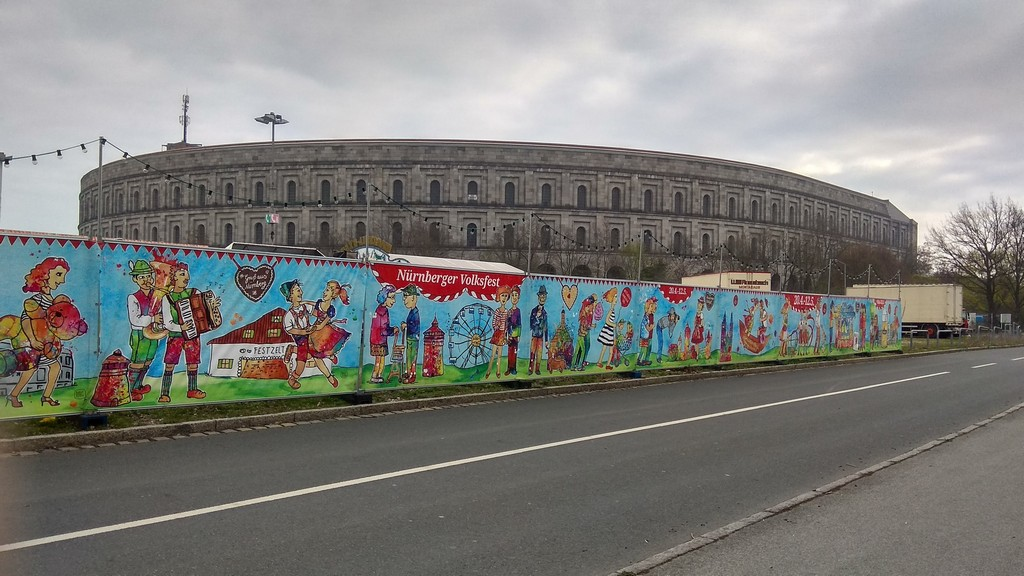 Бавария, Нюрнберг, Конгресс-холл (Congresses Centre) – фото 2019 г.