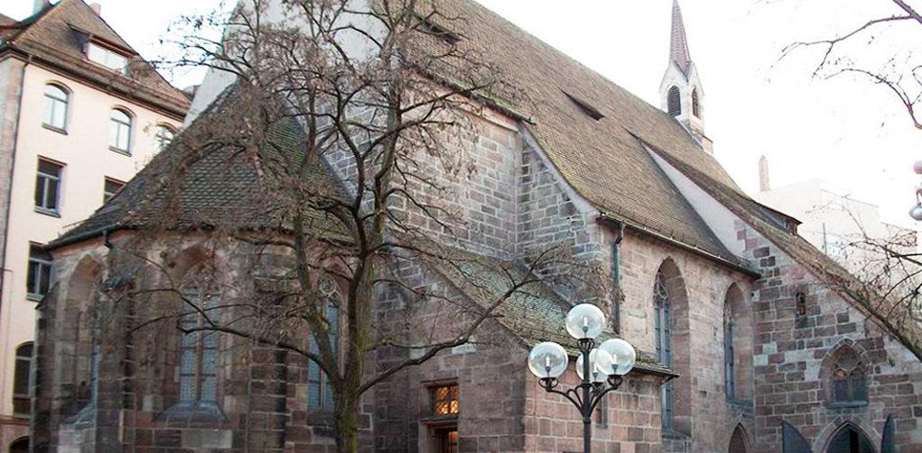 Бавария, Храм Святой Клары в Нюрнберге - Klarakirche