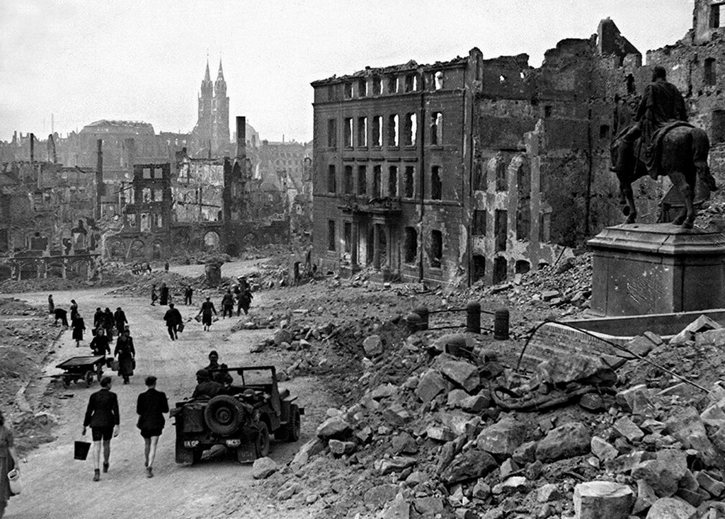 Нюрнберг, 1945 г.
