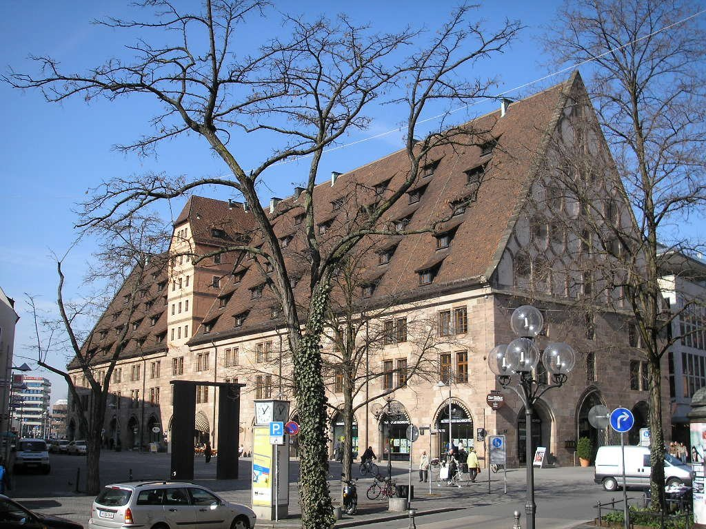 Бавария, Здание таможни в Нюрнберге — Маутхалле (Mauthalle)