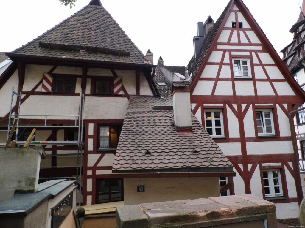 Самый старый дом Нюрнберга