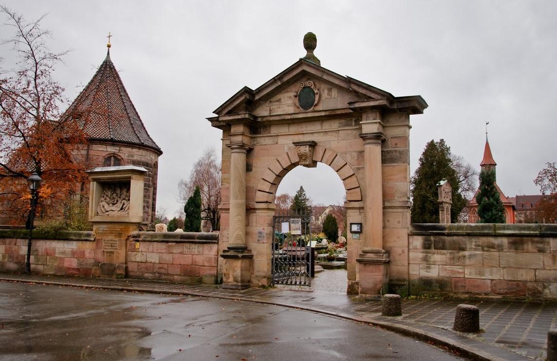 Кладбище Святого Иоанна  (Иоханнисфридхоф, Johannisfriedhof