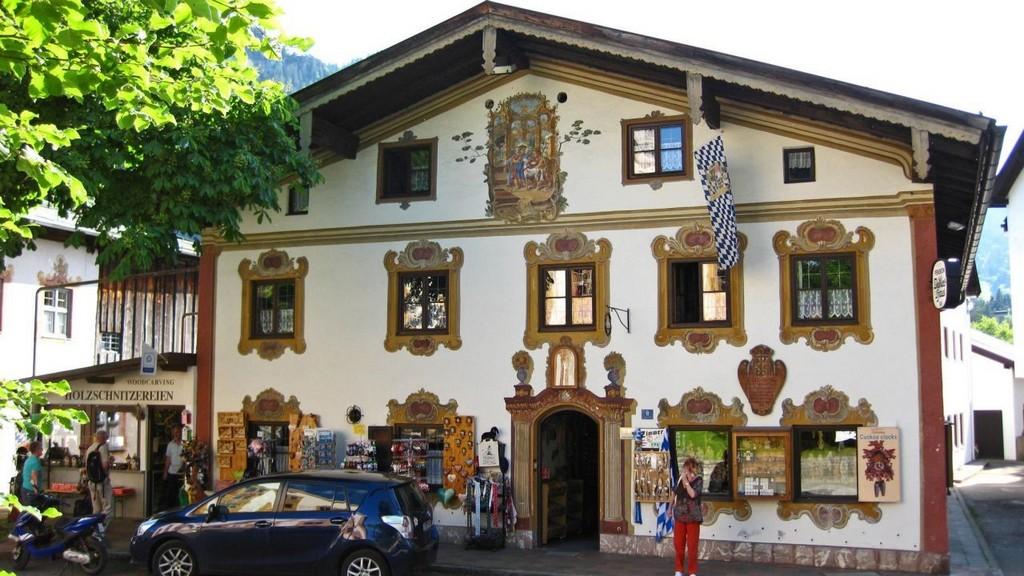 Дом «У лучшего мясника» (Dedlerhaus) Обераммергау (Бавария - Германия)