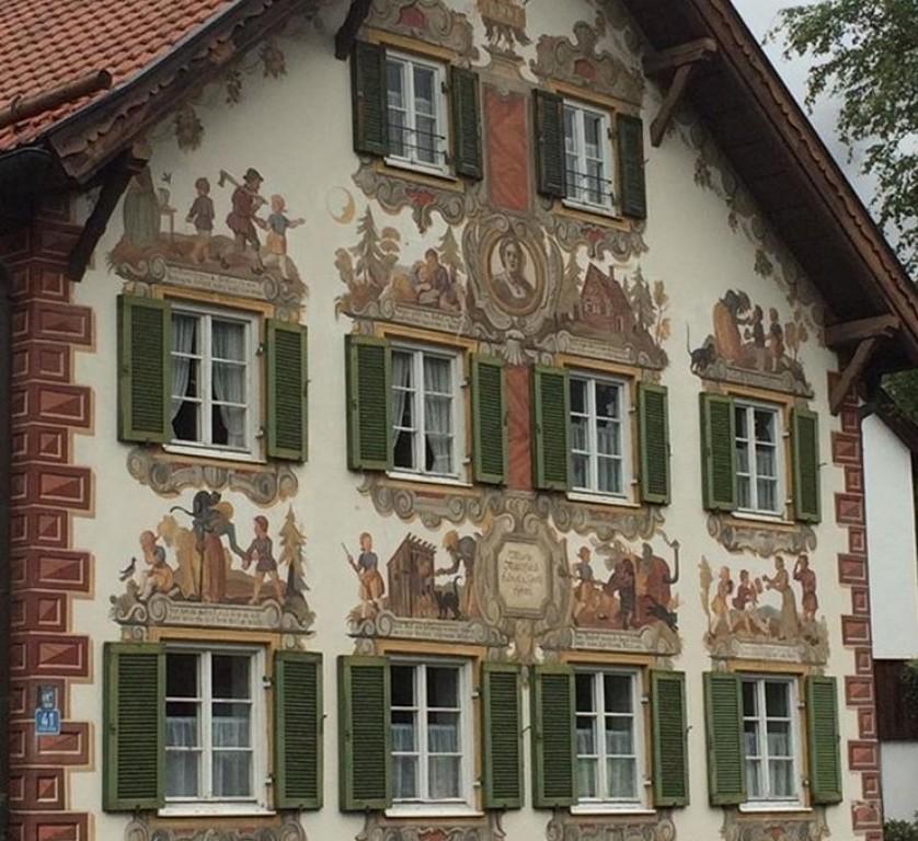 Дом Марии Матфельд «Гензель и Гретель» в Обераммергау - Обераммергау (Бавария, Германия)(Hänsel und Gretel)