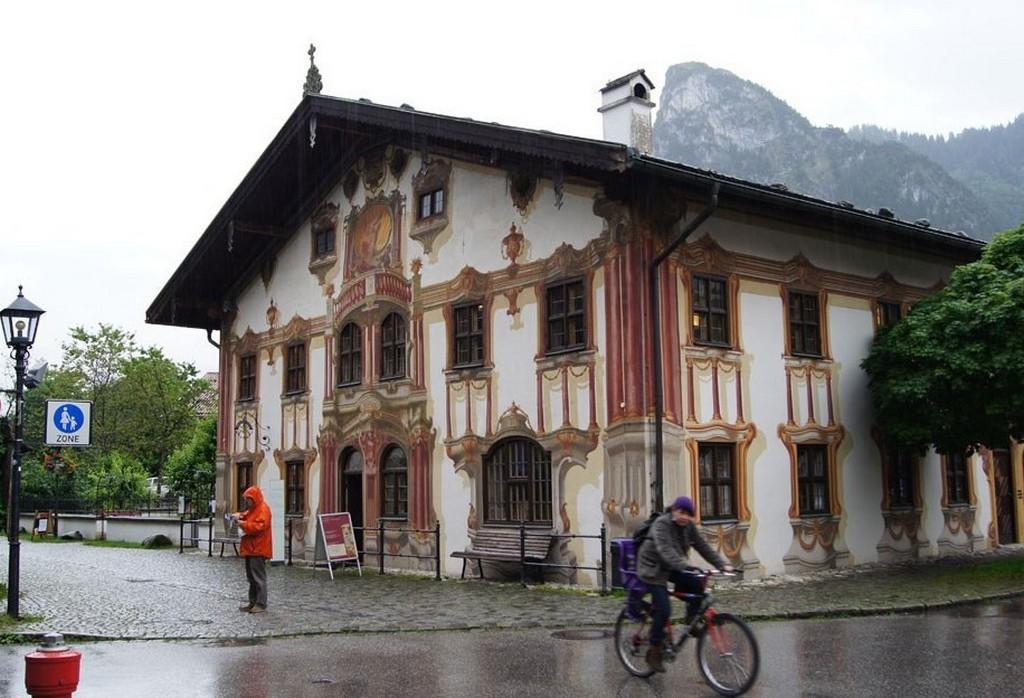 Дом Понтия Пилата Обераммергау (Бавария - Германия)
