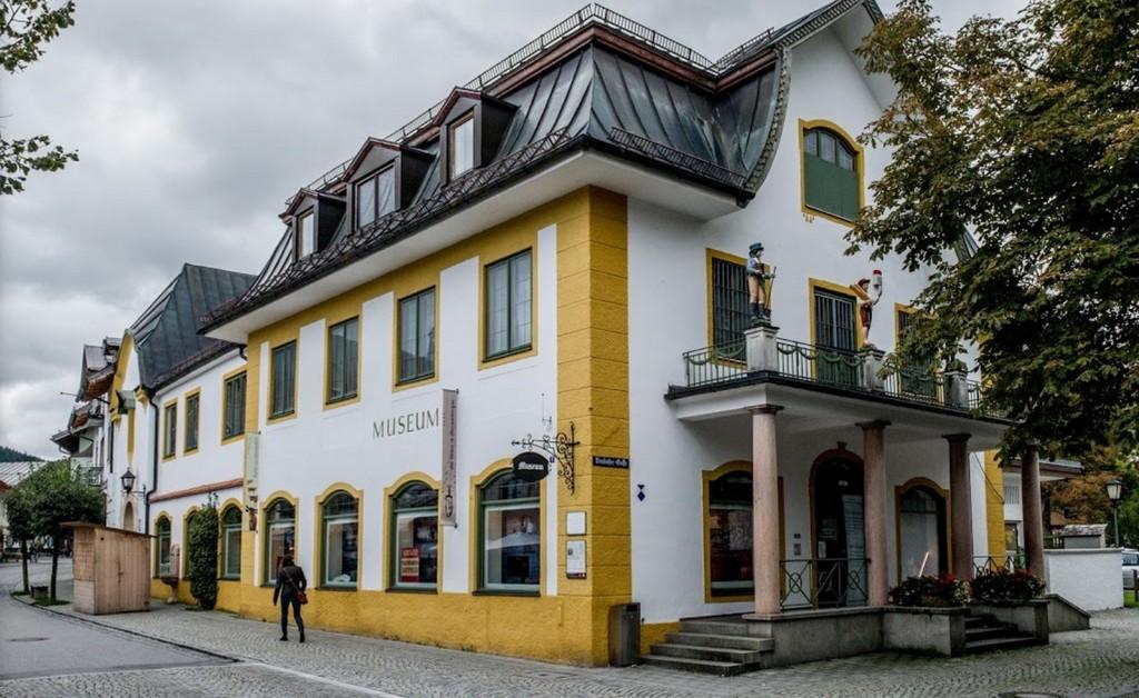 Музей Обераммергау Бавария