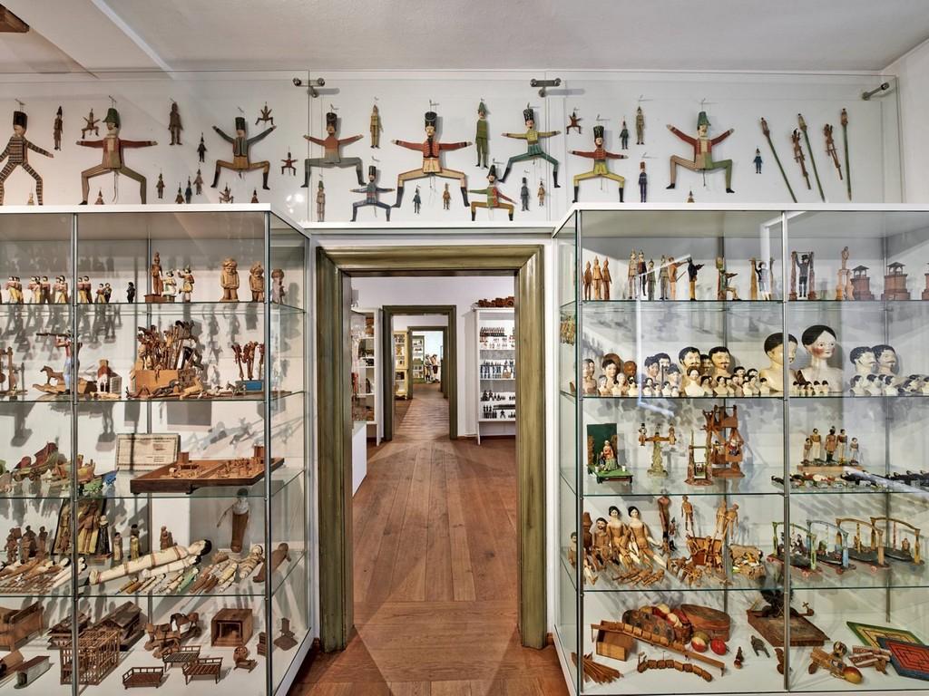 Первый этаж музея Обераммергау