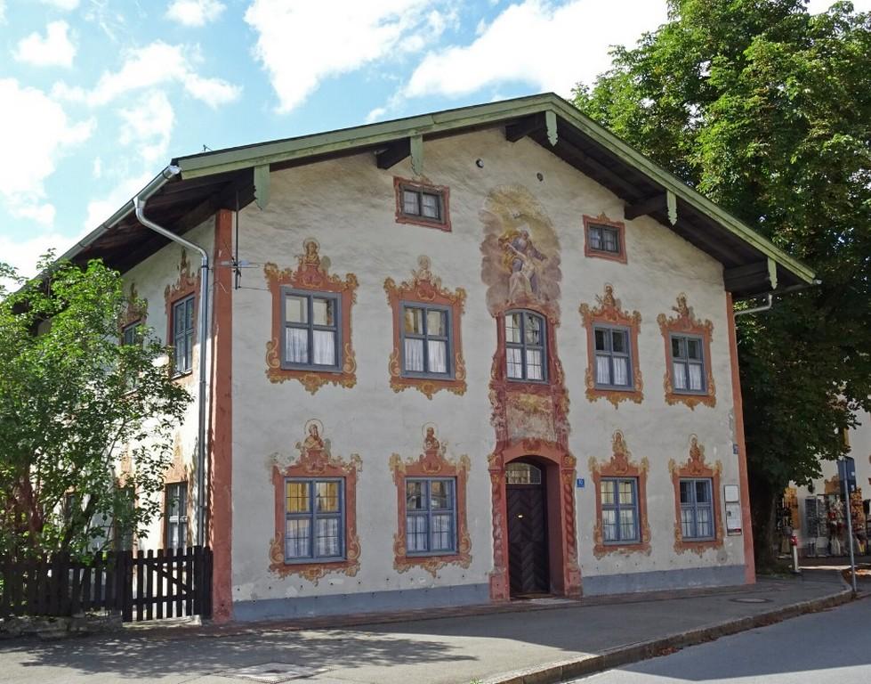 Кёльбльхаус Обераммергау Бавария Германия