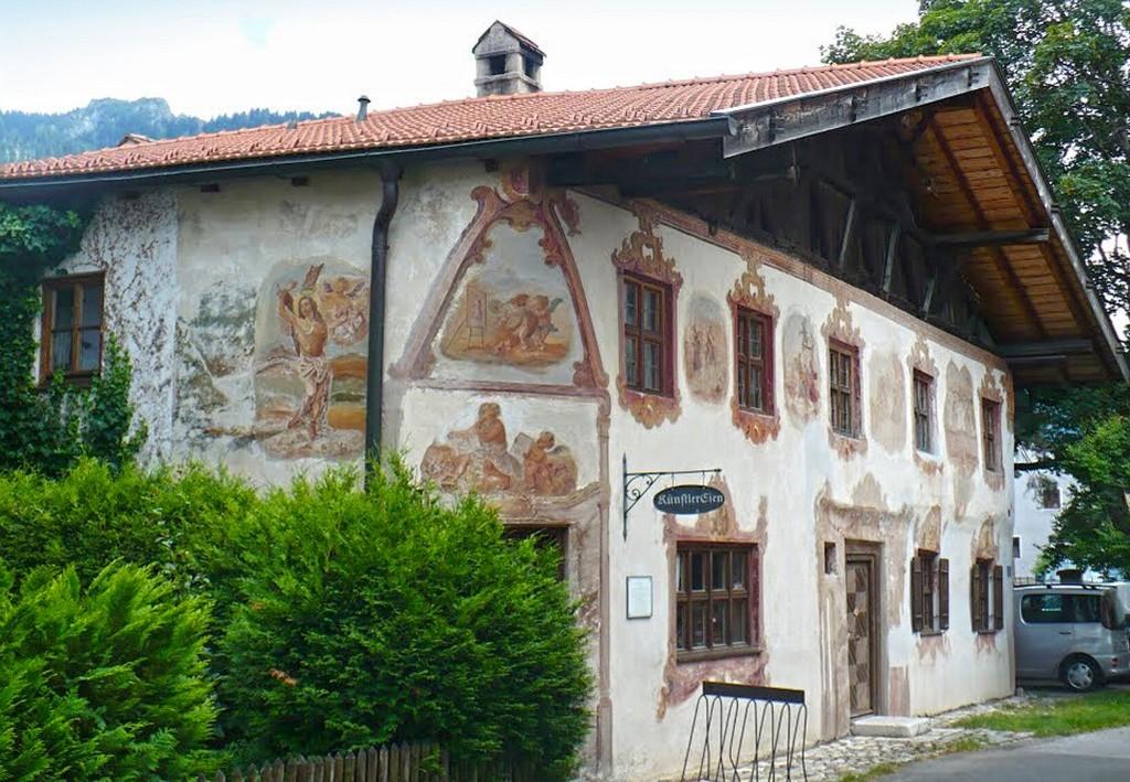 Дом Иуды «Judashaus» Обераммергау