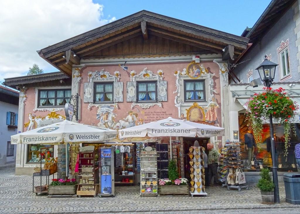Дом ювелира Отто Хорнера Оберамергау Бавария