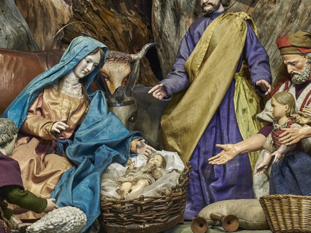 Сцена Рождества, музей Обераммергау