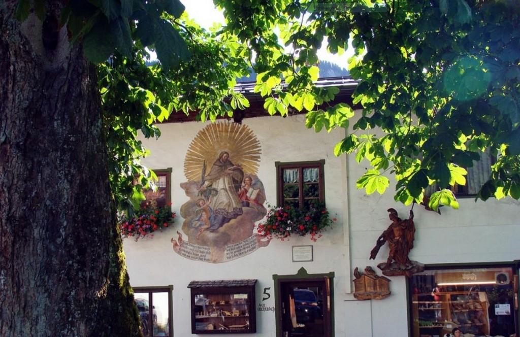 Дом Духа – Geisthaus Обераммергау (Бавария - Германия)