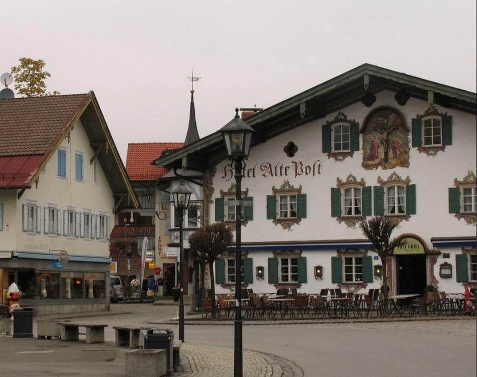 Альпийская деревняОбераммергау (Бавария - Германия)