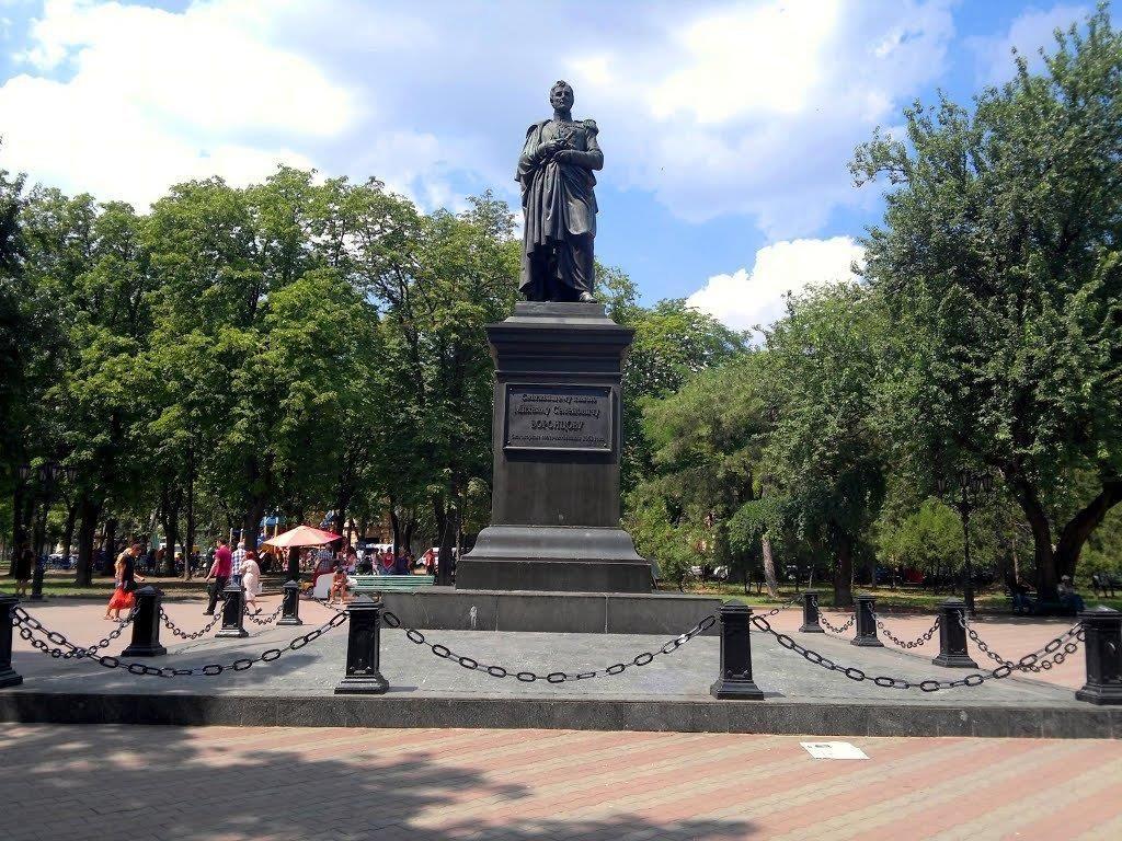 Памятник Екатерине II в Одессе