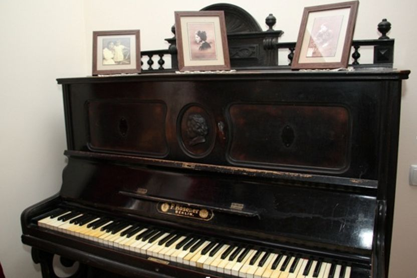 Ретро-пианино в музее Леонида Утесова в Одессе