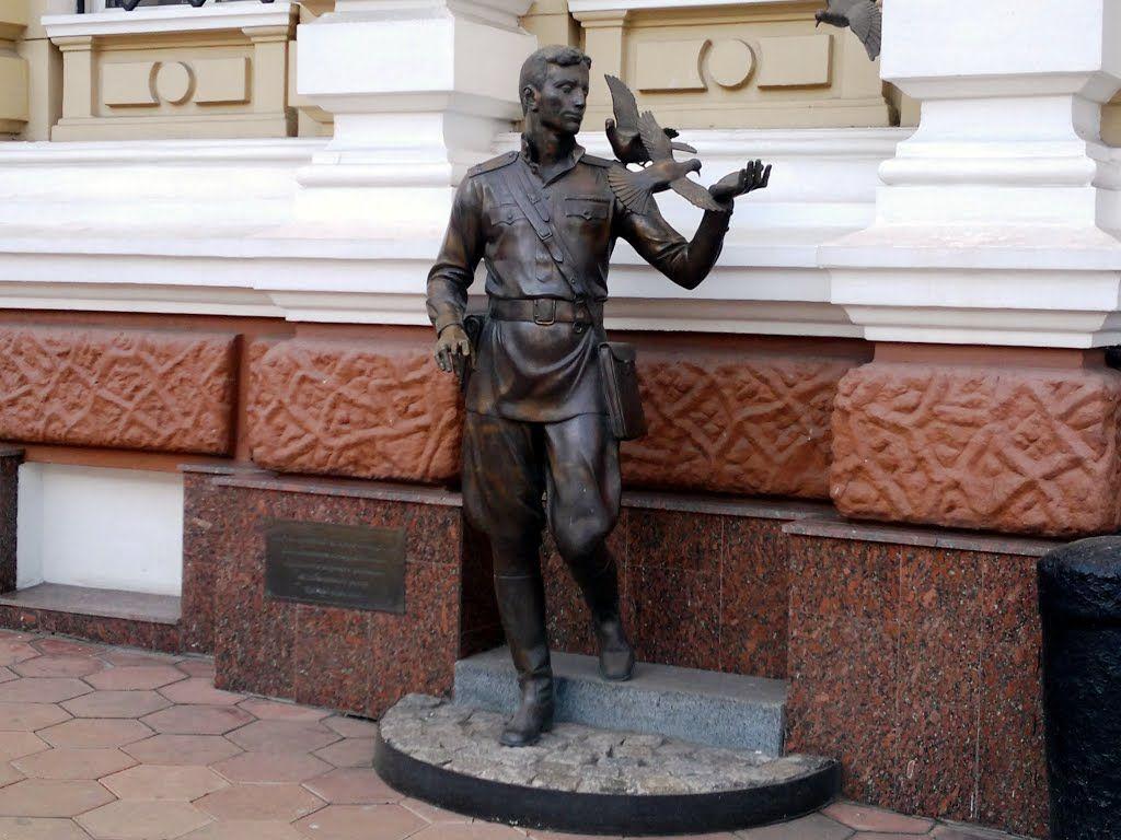 Памятник Давиду Гоцману