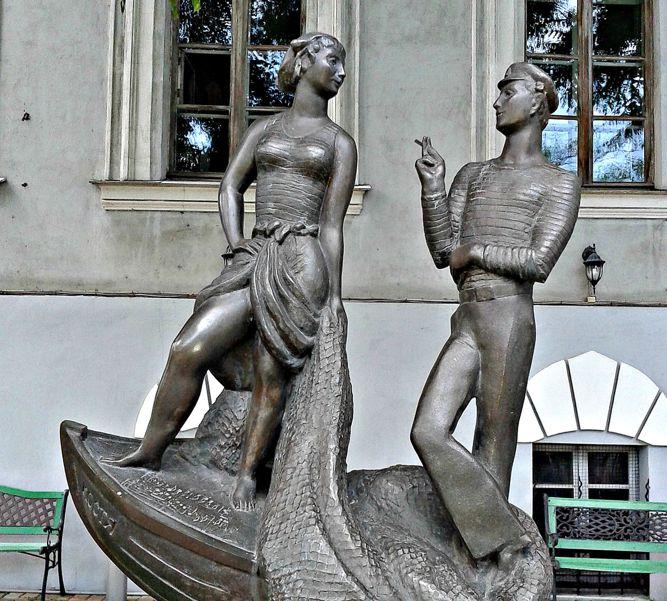 Памятник «Шаланды полные кефали»