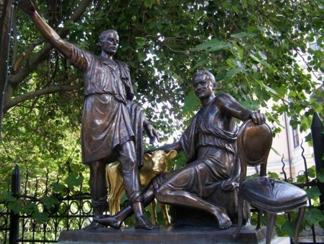 Памятник Илье Ильфу и Евгению Петрову – благодарная Одесса