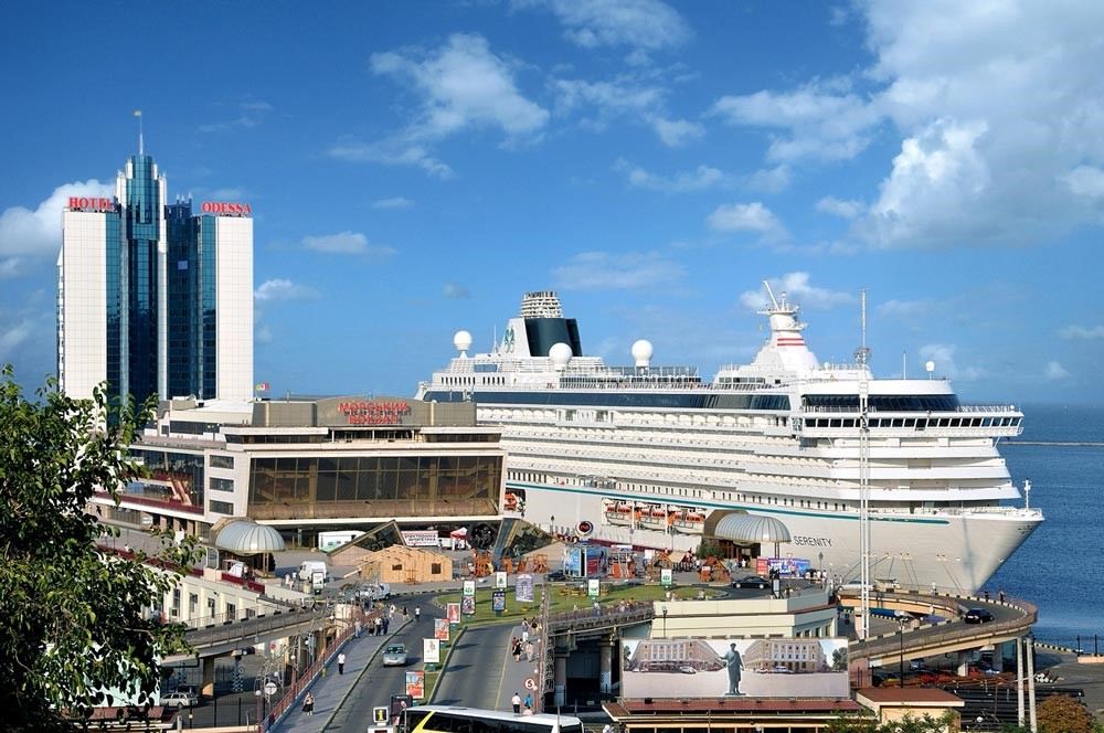 Морской порт, Одесса - пассажирский терминал порта