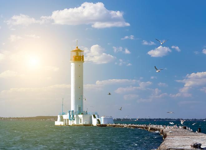 Воронцовский маяк в Одессе