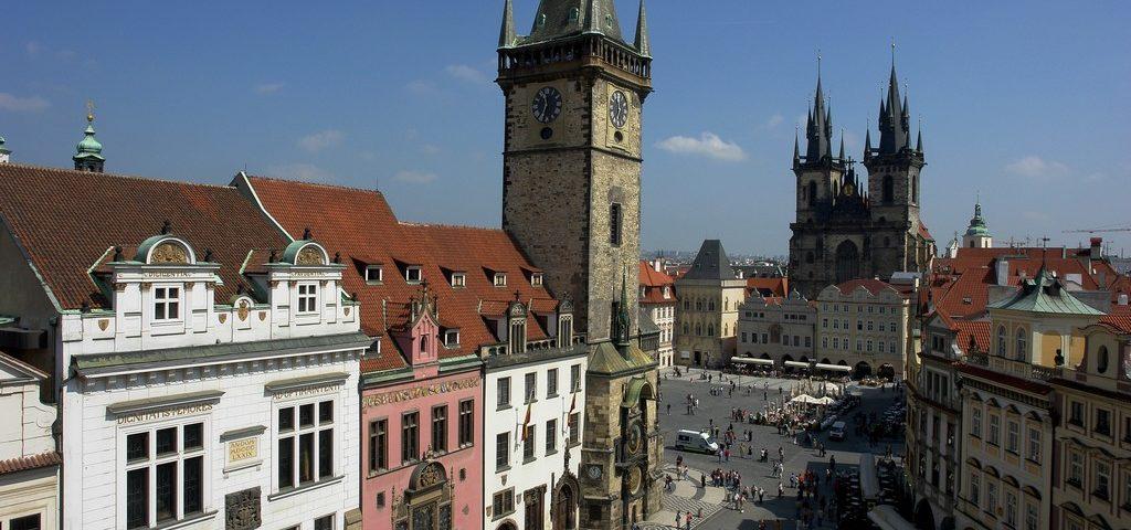 Староместская площадь (Staroměstské náměstí) Прага (Praha) – Чехия