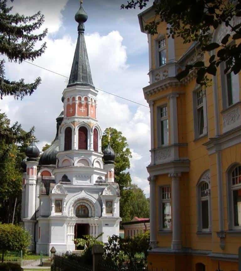 Православная церковь святой Ольги (Pravoslavny Kostel Sv. Olgy)