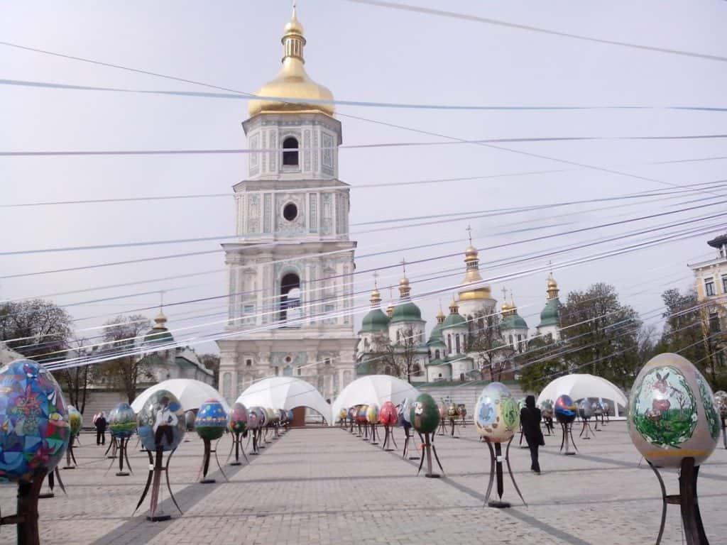 Софиевская площадь Киев фестиваль