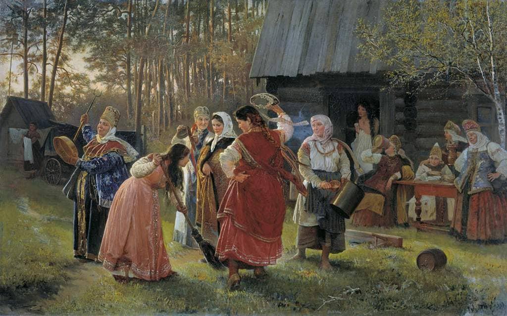 Празднование славянами праздника Красная горка