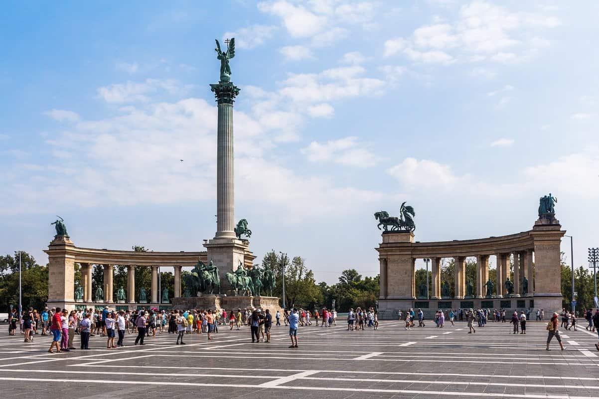 Площадь Героев Будапешт