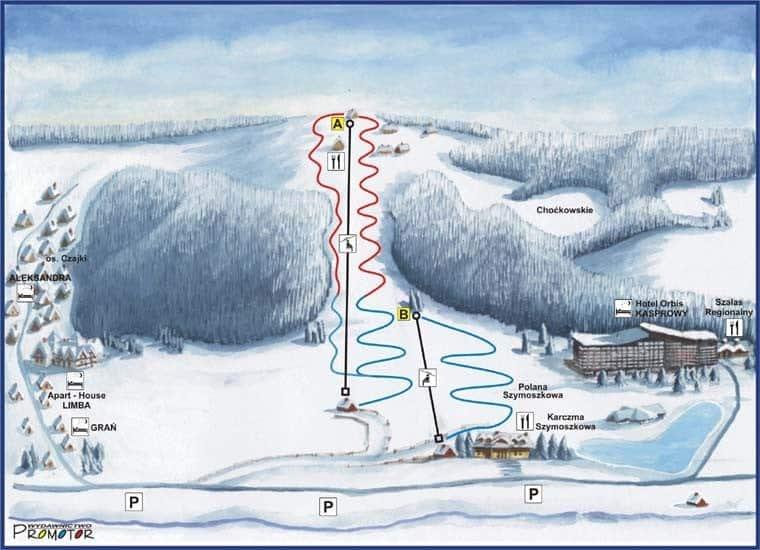 Polana Szymoszkowa - горнолыжный курорт в Закопане